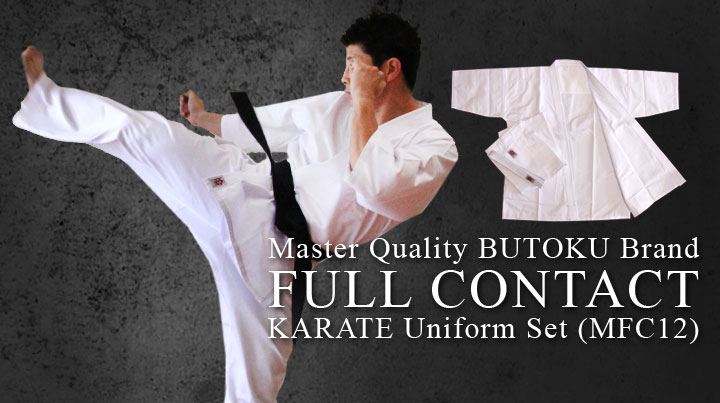 New Full Contact Karate Uniform Set