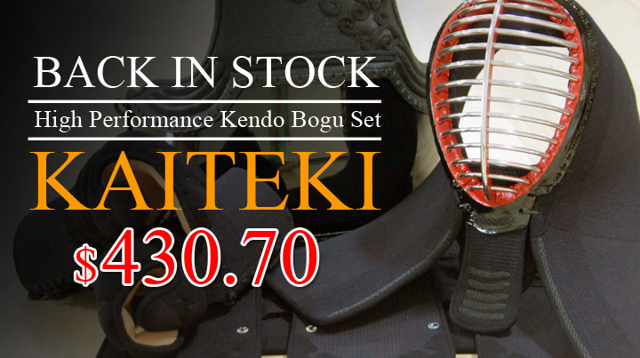 Kaiteki Bogu Back in Stock!