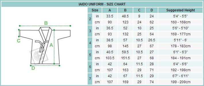 Top quality iaido gi white tetron